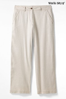 White Stuff Natural Winona Wide Leg Trousers