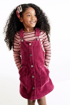 Cord Pinafore (3-16yrs)