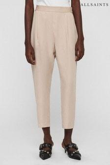 AllSaints Pale Pink Alva Tailored Trouser