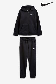 Nike Sportswear Trainingsanzug aus Fleece, Schwarz