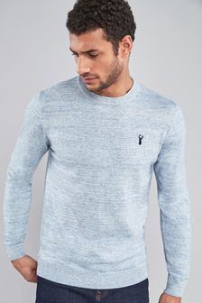 Cotton Rich Stag Marl Jumper
