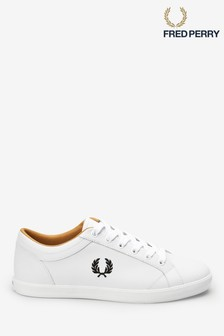 Fred Perry Baseline Leather Trainers