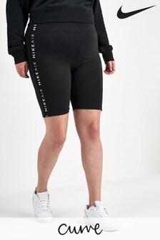 Nike Curve Black Cycling Shorts