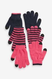 3件裝手套 (大女孩)