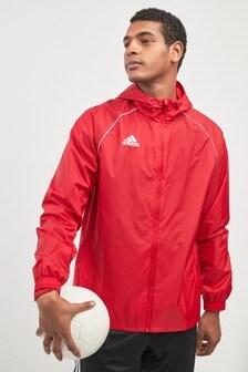 جاكيت مطر أحمر من adidas
