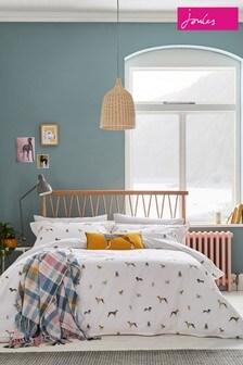 Joules Harbour Set mit Bett- und Kissenbezügen mit Hundemotiven