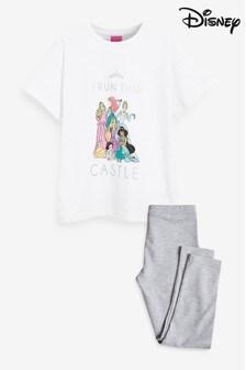 Pijama cu colanți și model prințesă Disney™ (3-14ani)