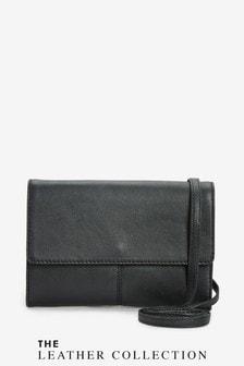 Leather Across-Body Bag