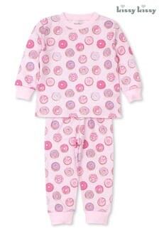 Kissy Kissy Pink Doughnuts Print Pyjamas