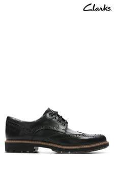 Čierne topánky Clarks Batcombe