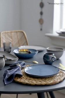 Bloomingville Blue Sandrine Stoneware Bowl