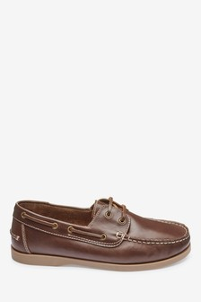 Leather Boat Shoes