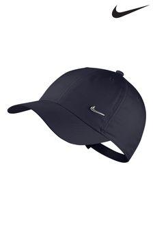 Темно-синяя детская кепка Nike Heritage 86