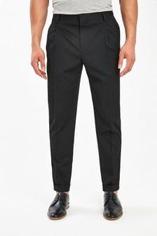 Wide Leg Formal Trousers