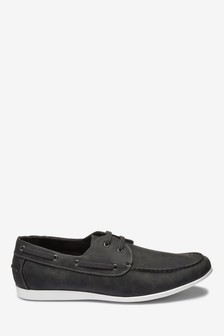 Textured Boat Shoe