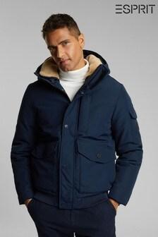 Esprit Blue Outdoor Woven Regular Jacket