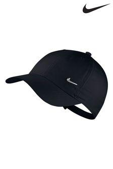 Черная детская кепка Nike Heritage 86