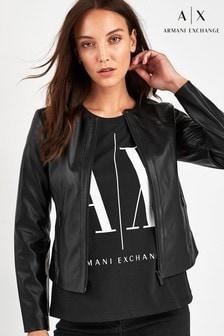 ז'קט Eco שחור של Armani Exchange
