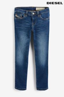 Diesel® Kids Jogg Skinzee jeans met donkere wassing