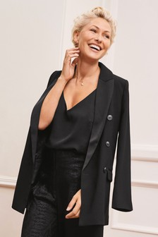 Emma Willis Tux Double Breasted Blazer