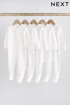 Набор из 5 базовых пижам (0-9мес.)
