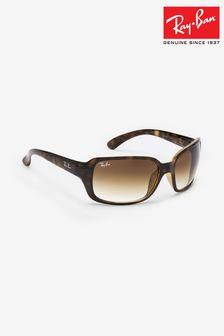 نظارة شمسية شكل صدفة السلحفاة RB4068 من Ray-Ban