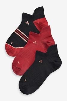 Набор спортивных носков под кроссовки (3 пары)