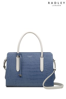 Radley London Liverpool Street Faux Croc Medium Multiway Bag