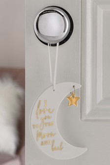 Moon Hanging Decoration