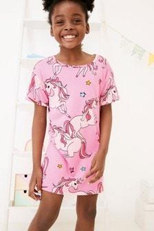 Camisón con diseño de unicornio (3-16 años)