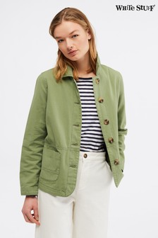 White Stuff Green Dena Utility Jacket