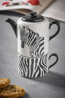 Zebra Tea for One