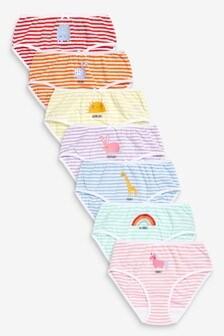 Lot de 7 slips (1,5-12 ans)