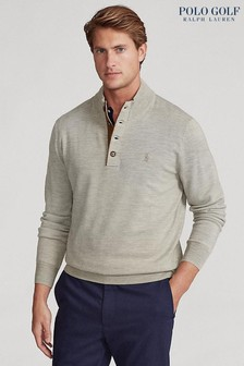 Polo Golf by Ralph Lauren 1/4 Button Knitted Jumper
