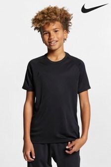 Čierne tričko Nike Academy