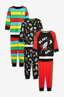Snuggle Pyjamas 3 Pack (9mths-12yrs)