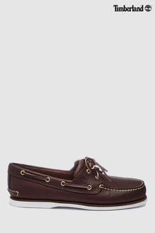 Timberland® Brown 2 Eyelet Boat Shoe