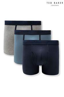 حزمة من ثلاثة ملابس داخلية بوكسر منTed Baker