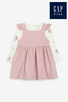 Gap Pink Cord Dress