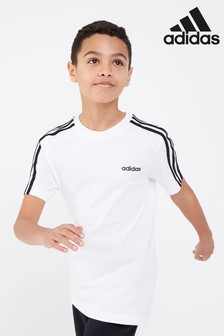Tričko adidas Essential s 3 pásikmi
