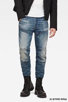 G-Star donker versleten Antic Restored Knee smal toelopende jeans