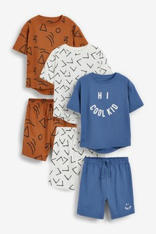 Набор из 3 пижам с шортами (9 мес. - 12 лет)
