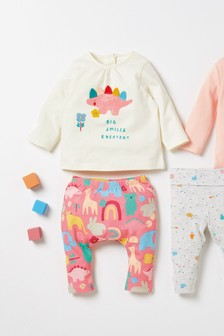2 Piece Character T-Shirt And Leggings Set (0mths-2yrs)