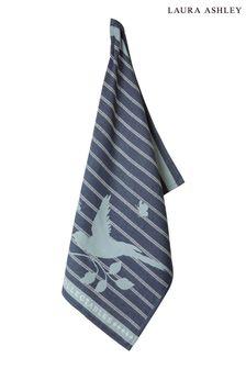 Laura Ashley Heritage Collectables Midnight Bird Tea Towel