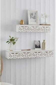 Carved Vintage Shelf (324805) | $35 - $58