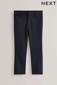 Společenské strečové přiléhavé kalhoty (3-17 let)