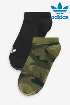 adidas Originals Adults Camo Linear Socks Two Pack