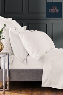 Bedeck Of Belfast Chalk 1000 Thread Count Fitted Sheet
