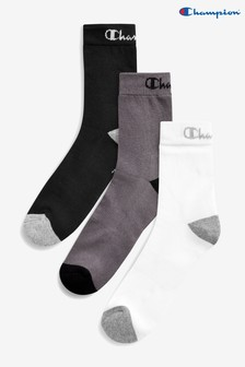 Champion Crew Socks Three Pack