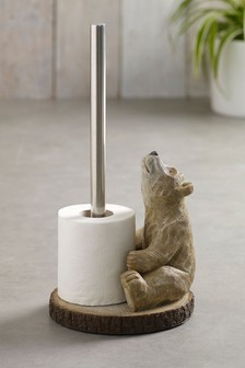 Bear Toilet Roll Holder